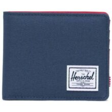 HERSCHEL ROY WALLET NAVY RED
