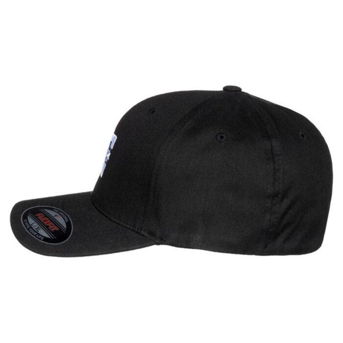 DC CAP STAR FLEXFIT CAP BLACK