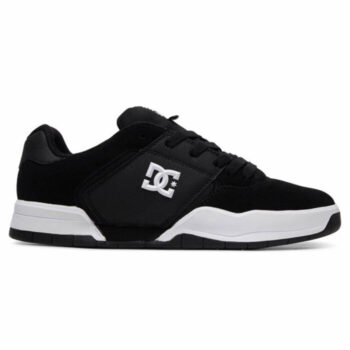 DC CENTRAL SHOES BLACK WHITE
