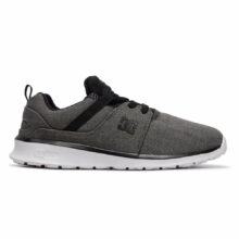 DC HEATHROW TX SE YOUTH SHOES DARK GREY