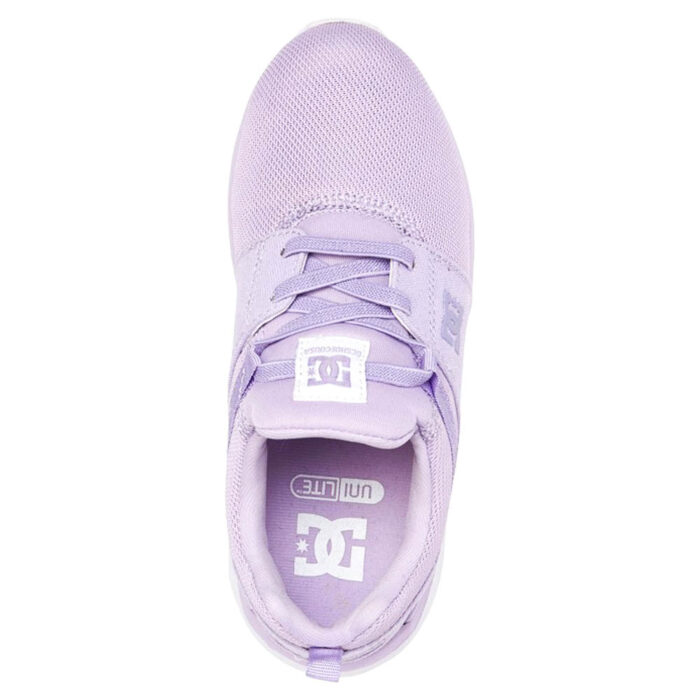 DC HEATHROW YOUTH SHOES LILAC