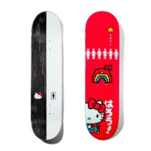 GIRL MIKE CARROLL HELLO KITTY 8.3 SKATE DECK