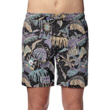 GLOBE STAY TUNED POOLSHORT BLACK