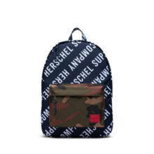 HERSCHEL CLASSIC BACKPACK ROLL CALL PEACOAT WOODLAND CAMO