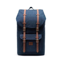 HERSCHEL LITTLE AMERICA BACKPACK INDIGO DENIM CROSSHATCH