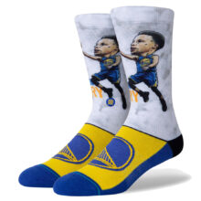 STANCE STEPH BIG HEAD SOCK BLUE