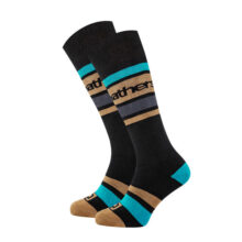 HORSEFEATHERS MACE SNOW SOCKS BLACK