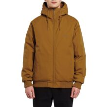 VOLCOM HERNAN 5K JACKET GOLDEN BROWN