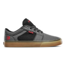 ETNIES BARGE PRESERVE SHOES GREY BLACK GUM