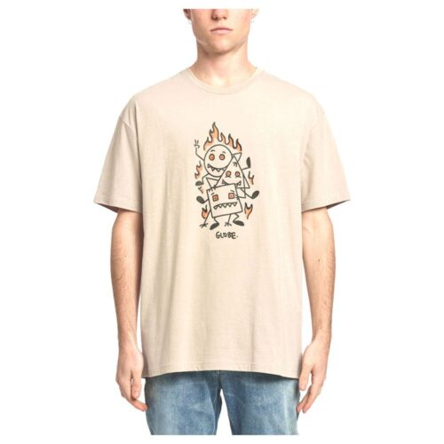 GLOBE APPLEYARD STACKER T-SHIRT CASHEW