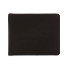 VANSLOGO WALLET DARK BROWN