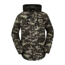 VOLCOM FIELD INSULATED FLANNEL ARMY