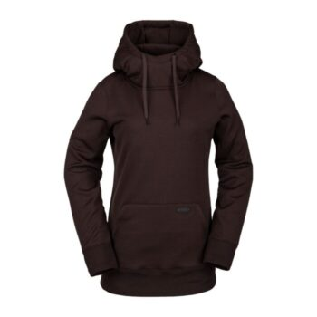 VOLCOM YERBA PULLOVER FLEECE BLACK RED