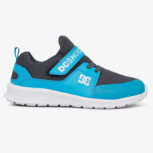 DC HEATHROW PRESTIGE EV YOUTH SHOES BRIGHT BLUE