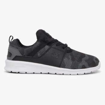 DC HEATHROW YOUTH SHOES BLACK PRINT