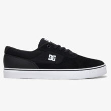 DC SWITCH S SHOES BLACK BLACK WHITE