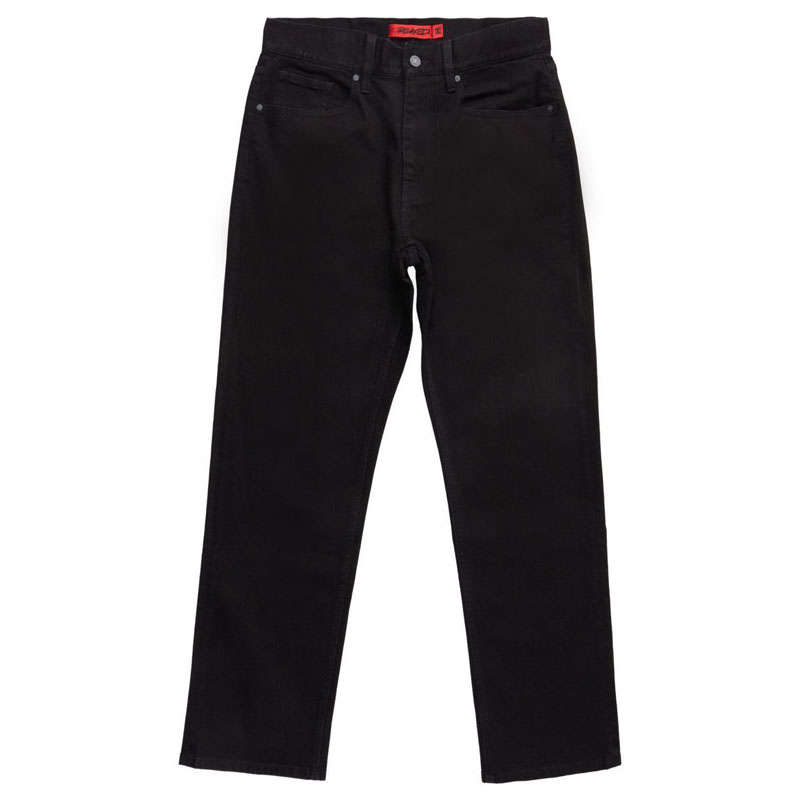 DC WORKER RELAXED FIT JEAN BLACK RINSE