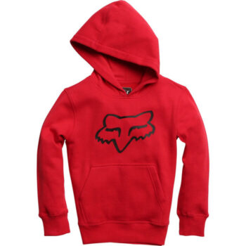 FOX YOUTH LEGACY PULLOVER FLEECE DARK RED