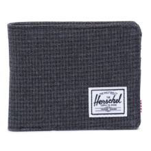HERSCHEL RHERSCHEL ROY WALLET SHADOW GRIDOY WALLET SHADOW GRID