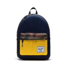 HERSCHEL CLASSIC XL BACKPACK PEACOAT WOODLAND CAMO LEMON CHROME
