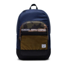 HERSCHEL KAINE BACKPACK PEACOAT WOODLAND CAMO LEMON CHROME