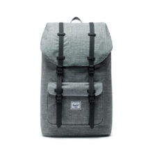 HERSCHEL LITTLE AMERICA BACKPACK RAVEN CROSSHATCH BLACK
