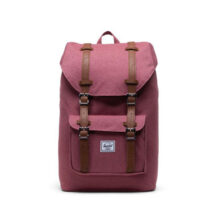HERSCHEL LITTLE AMERICA MID VOLUME BACKPACK DECO ROSE SLUB