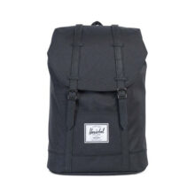 HERSCHEL RETREAT BACKPACK BLACK BLACK