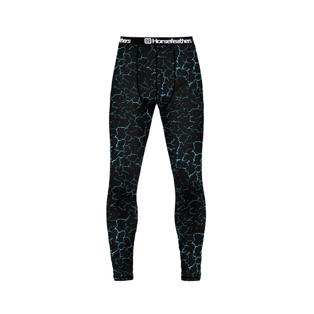 HORSEFEATHERS RILEY THERMAL PANT CRACKED BLACK