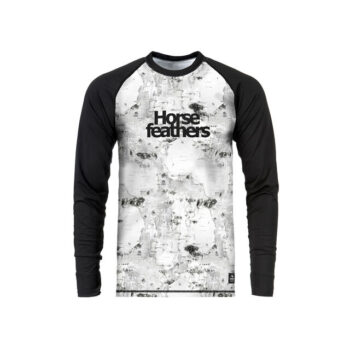 HORSEFEATHERS RILEY THERMAL SHIRT BIRCH