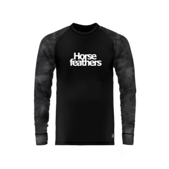HORSEFEATHERS RILEY THERMAL SHIRT GRAY CAMO