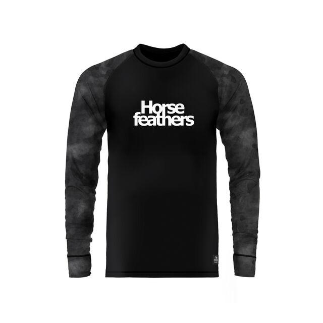 HORSEFEATHERS RILEY THERMAL SHIRT GRAY CAMO