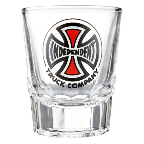 INDEPENDENT SHOT GLASS CLEAR