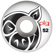 PIG HEAD WHEELS NATURAL 52MM