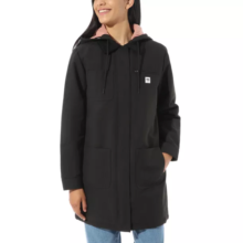 VANS DRILL LONG CHORE COAT MTE BLACK