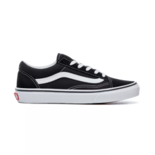 VANS KIDS OLD SKOOL SHOES BLACK TRUE WHITE