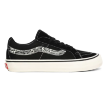 VANS SK8-LOW REISSUE SF SHOES SNAKE BLACK