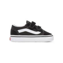 VANS TODDLER OLD SKOOL V SHOES BLACK