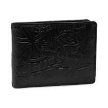 INDEPENDENT ARRAY WALLET BLACK EMBOSS