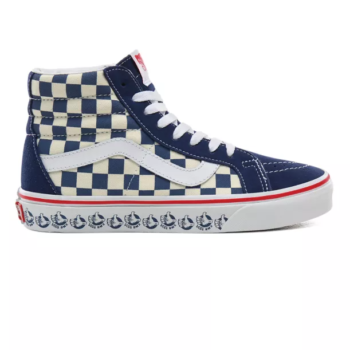 VANS BMX SK8-HI REISSUE SHOES TRUE NAVY WHITE