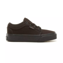 VANS KIDS CHUKKA LOW SHOES BLACKOUT