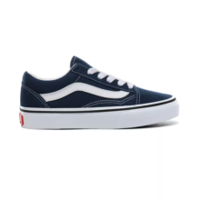 VANS KIDS OLD SKOOL SHOES GIBRALTAR SEA TRUE WHITE