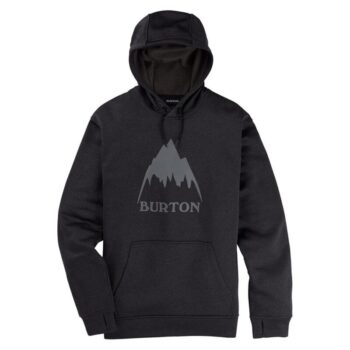 BURTON OAK PO HOODIE BLACK HEATHER