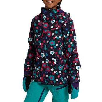 BURTON ELODIE GIRLS SNOW JACKET FLOWER POWER