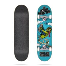 CRUZADE THE INCREDIBLE FARTING MAN COMPLETE SKATEBOARD 8.125