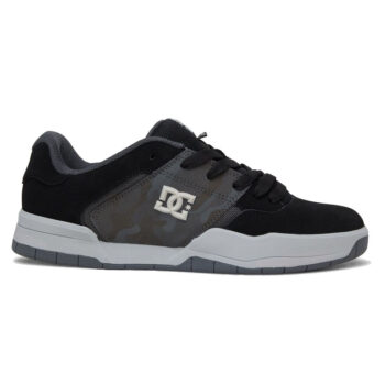 DC CENTRAL SHOES GREY BLACK GREY
