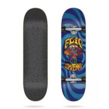 FLIP PENNY LOVESHROOM BLUE COMPLETE SKATEBOARD 8.0