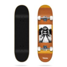 TRICKS HIPPIE COMPLETE SKATEBOARD 8.0