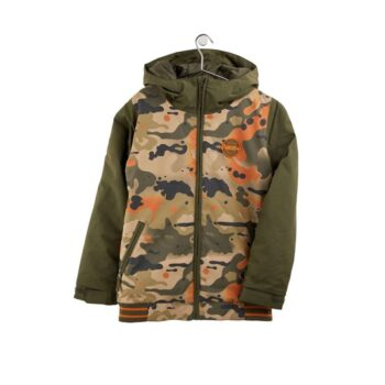 BURTON GAME DAY BOYS SNOW JACKET KELP BIRCH CAMO