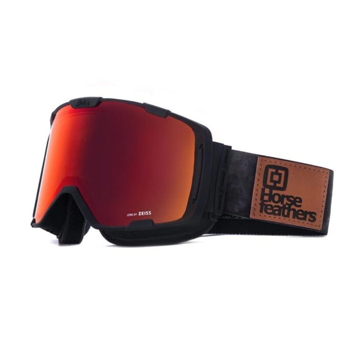 HORSEFEATHERS X MELON PARKER GOGGLES GRAY CAMO RED CHROME